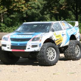 Auto rally závodnice Olgy Lounové