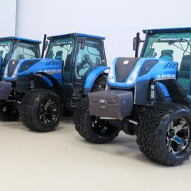 Tři traktory na zakázku v rámci soutěže Traktor 2050